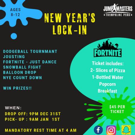 NYE 2018 Lock In