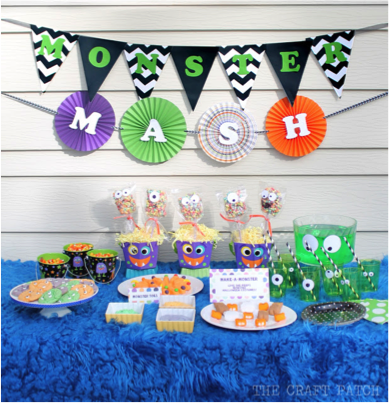 Monster Mash Birthday Party Theme at Jumpmasters