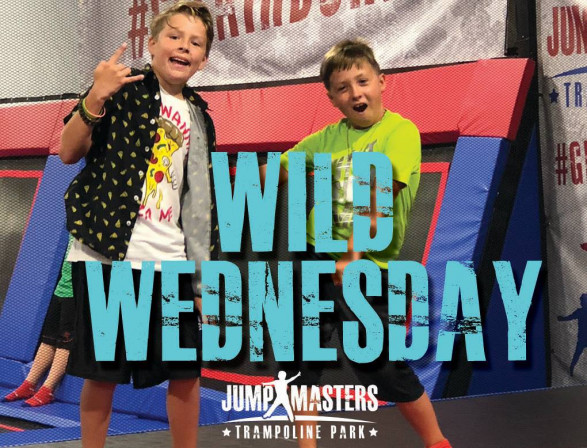 Wild Wednesday at Jumpmasters Trampoline Park Outer Banks