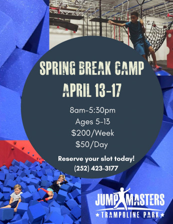 Spring Break 2020 Flyer